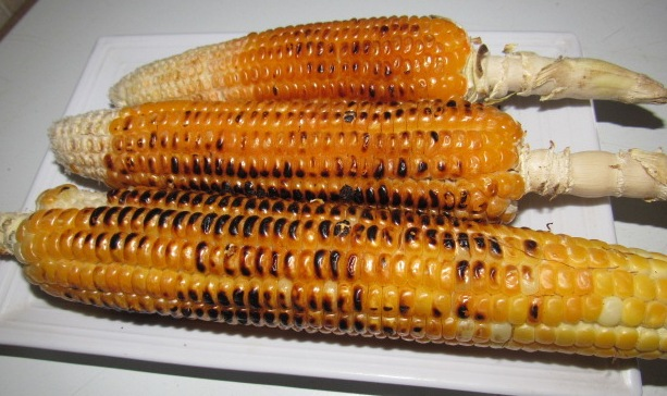 Roasted corn for my weight loss