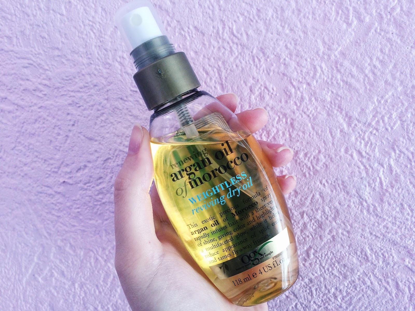 Argan Oil Of Morocco Dry Oil Spray