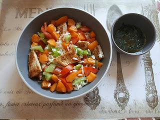 riz poulet abricots vinaigrette anis bypass sleeve