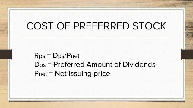 what is cost of preferred stock?