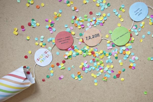 confetti invitations template. Black Bedroom Furniture Sets. Home Design Ideas