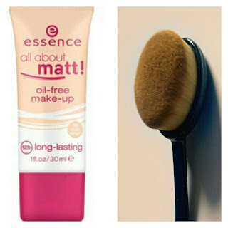 Essence All about mat e spazzolino brush