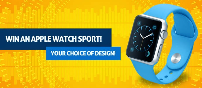 Win Apple Watch Sport giveaway