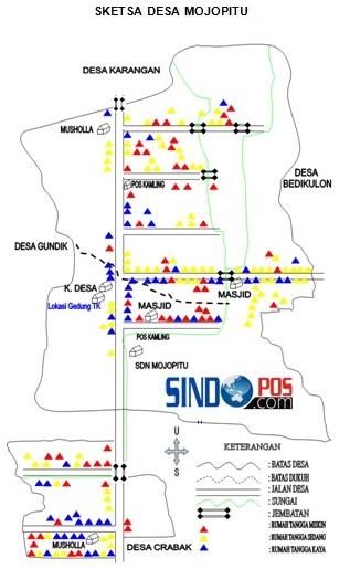 Profil Desa & Kelurahan, Desa Mojopitu Kecamatan Slahung Kabupaten Ponorogo