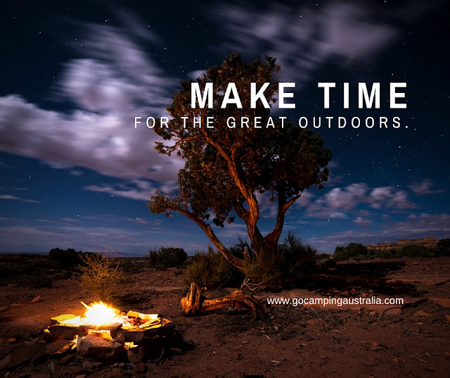 make time for the great outdoors