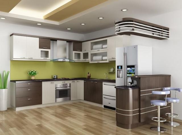 Tủ bếp gỗ Laminate - Sự lựa chọn hoàn hảo.