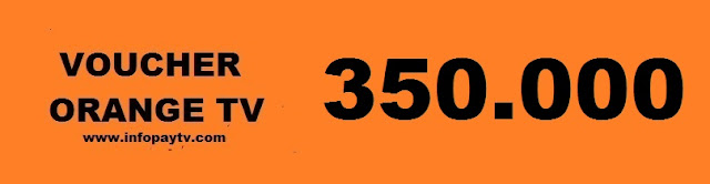 Voucher Orange TV 350 Ribu