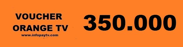 Voucher Orange TV 350 Ribu
