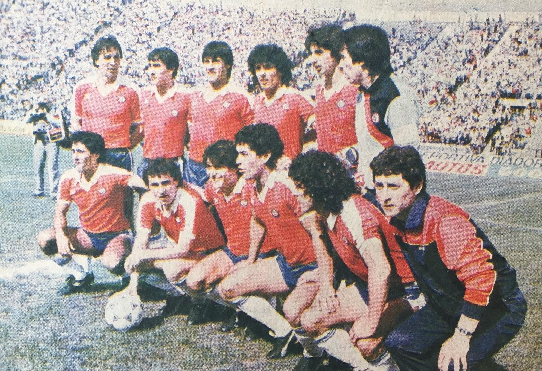 Formación de Chile ante Perú, Clasificatorias México 1986, 27 de octubre de 1985