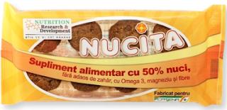 poza Nucita produs supliment alimentar cu nuca pe Catena, bun in diete, nu ingrasa