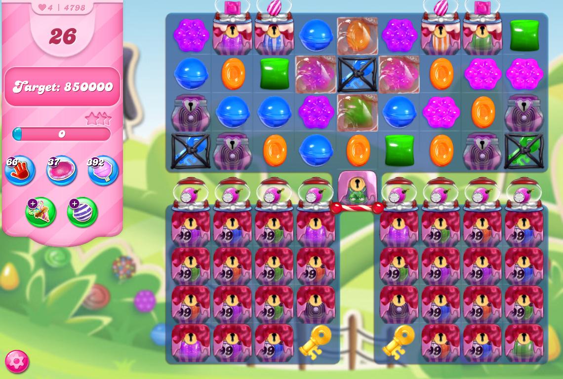 Candy Crush Saga level 4798