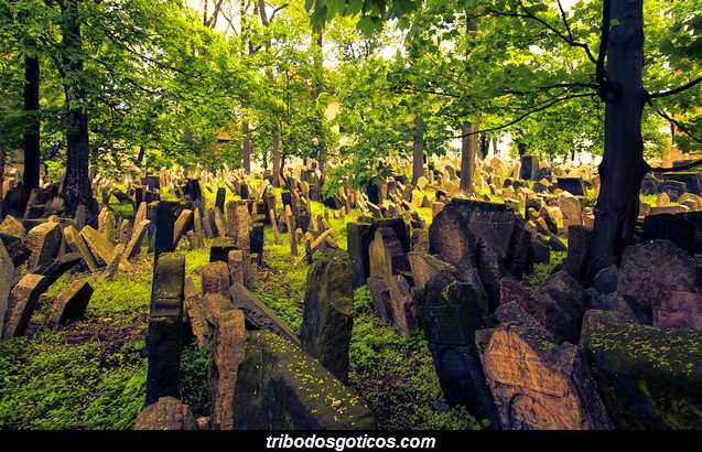 cemiterio goticos judaico de praga lapides