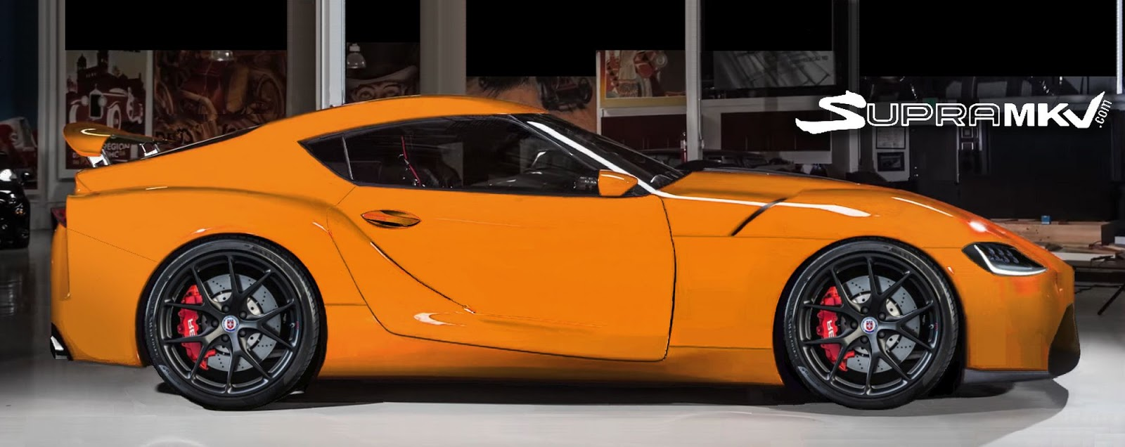 New Toyota Supra Shows Up In Side Profile Renderings - Yay ...