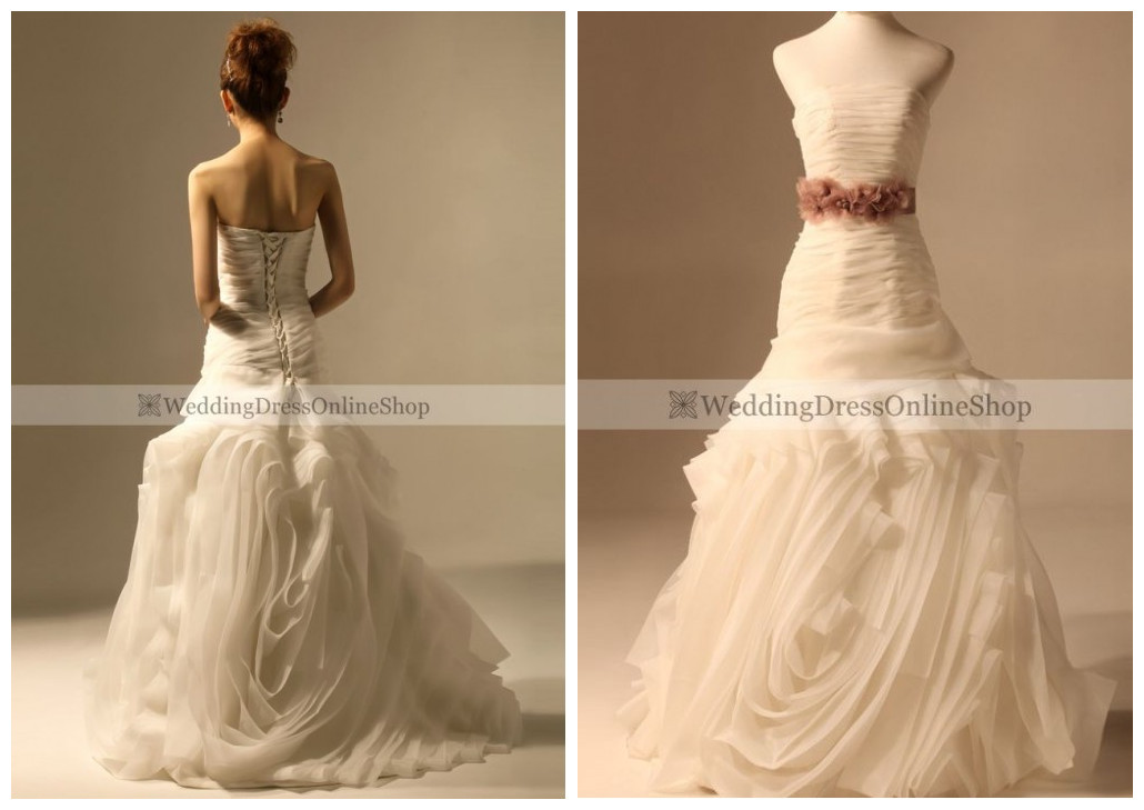 Wedding Blog: New Arrivals: Mermaid And A Line Wedding Dress