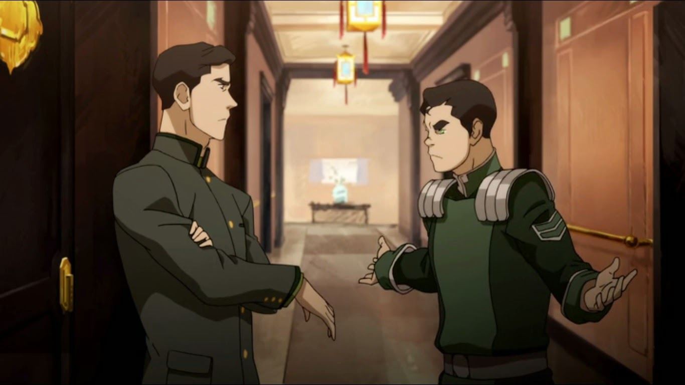 bolin and mako meet their family members