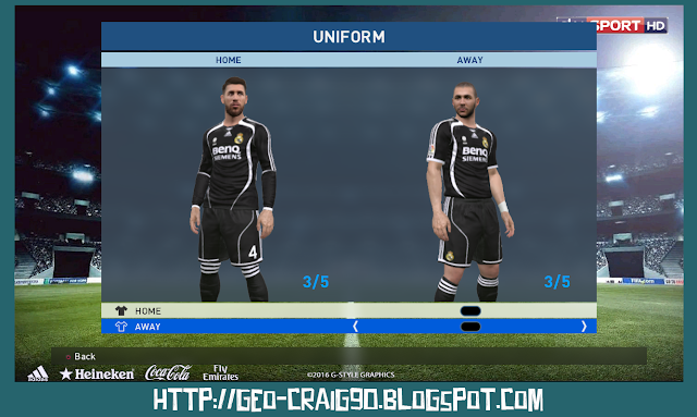 PES 2017 Real Madrid 2006-07 HD