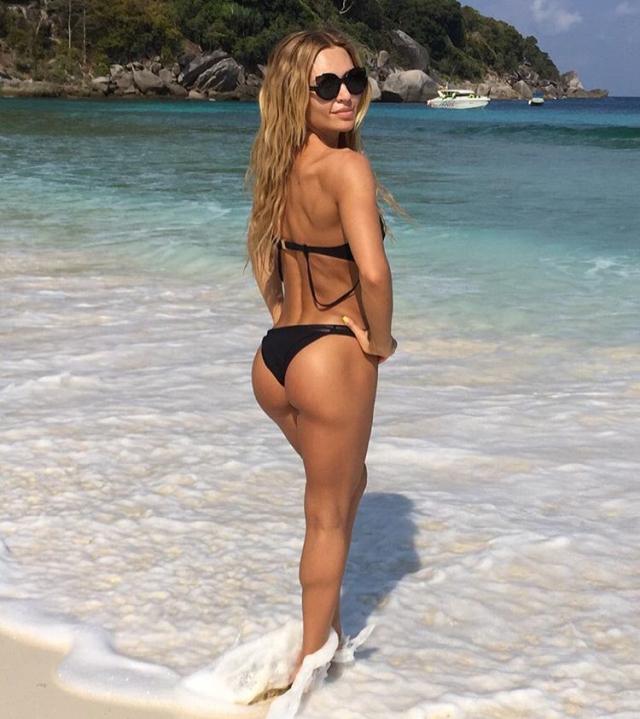 The most popular fitness models kate Usmanova