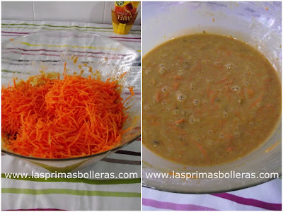 Hacer bizcocho de zanahoria