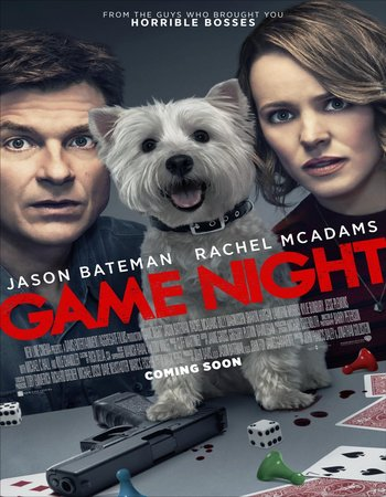 Game Night (2018) English 720p WEB-DL
