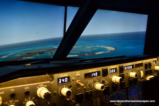 iPilot flight in Dubai
