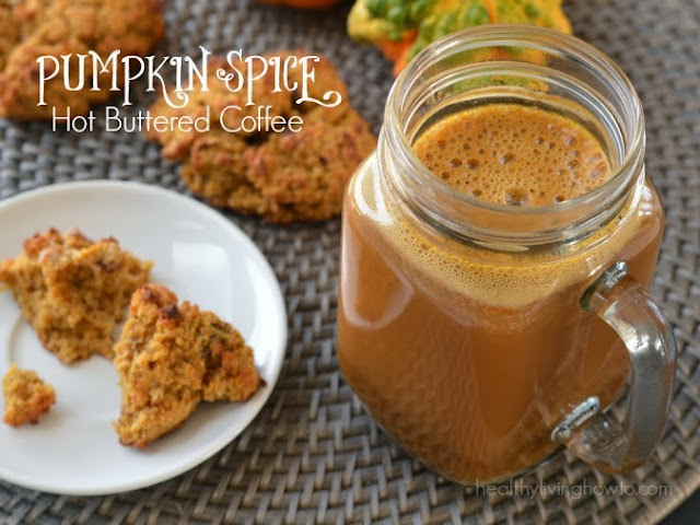 Fall Drink Recipes: Pumpkin Spice Hot Buttered Coffee by Healthy Living How To