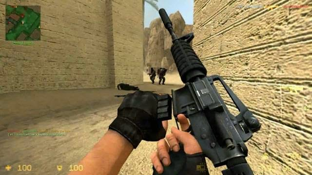 Counter Strike Source PC Games Gameplay