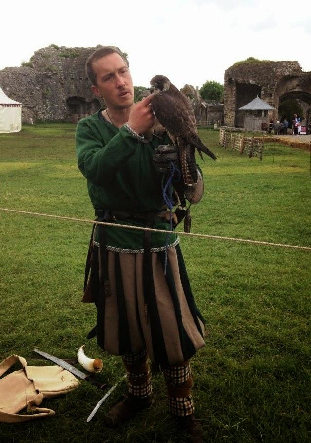 Corfe Castle falcon
