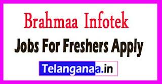Brahmaa Infotek Recruitment 2017 Jobs For Freshers Apply