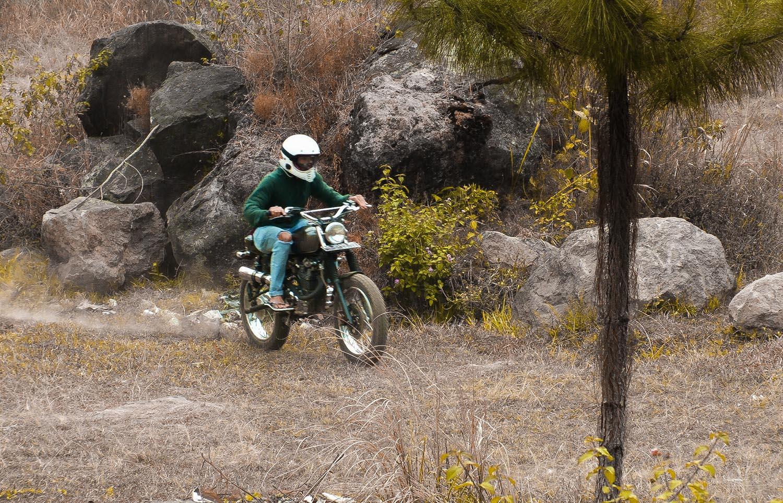 Honda Tracker Custom Ngawi