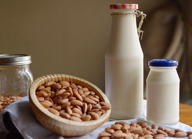 Cara Membuat Susu Almond