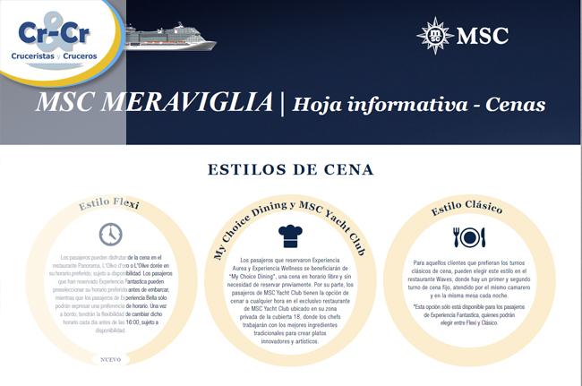 ► MSC Cruceros eleva aún más el listón de su oferta gastronómica