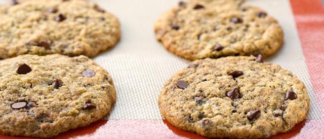 fat free vegan chocolate chip cookies