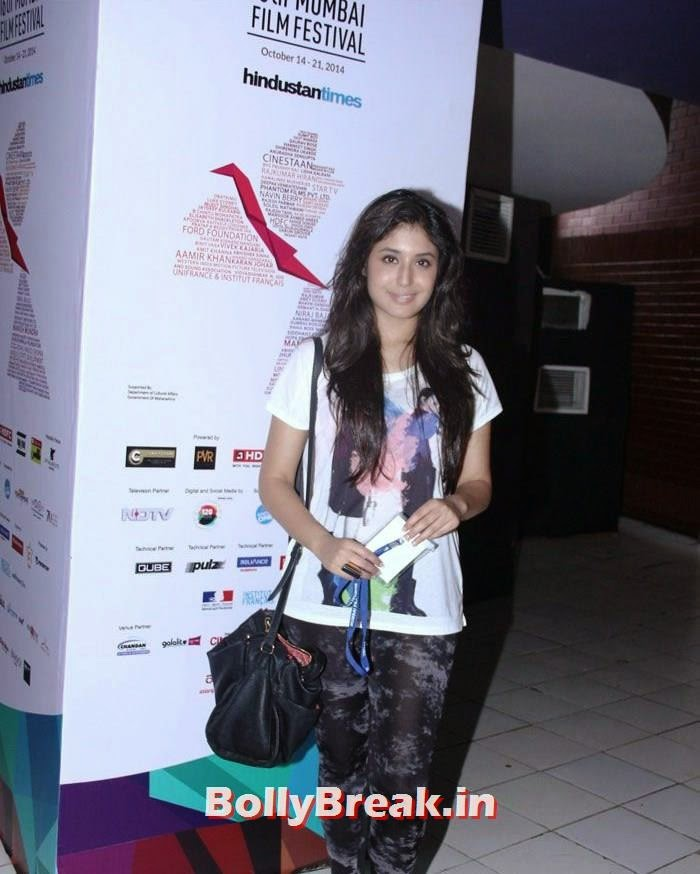 Kritika Kamra, Photos from Opening Ceremony of MAMI 2014