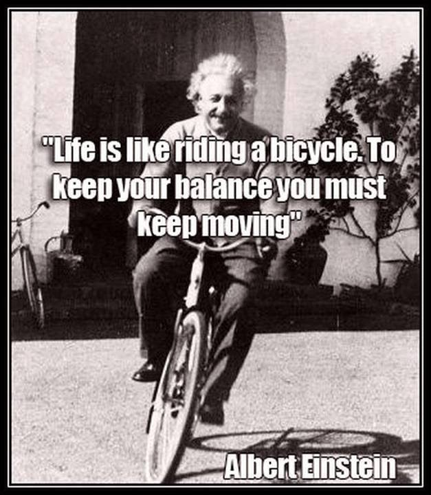 Albert Einstein Quotes Life Is Like Riding A Bicycle: Kadsur