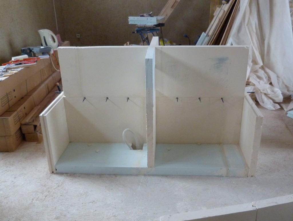 construire un ilot central. Black Bedroom Furniture Sets. Home Design Ideas
