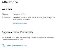 Licenza Microsoft