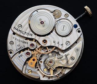 Calibre de montre de poche Hamilton 921