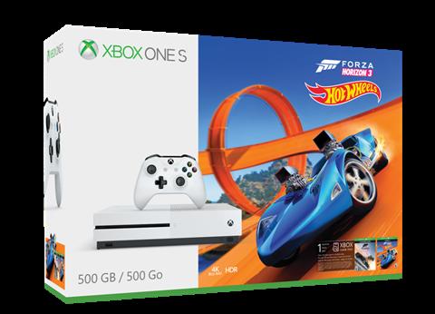 Ya disponible el pack de Xbox One S con Forza Horizon 3 y Hot Wheels