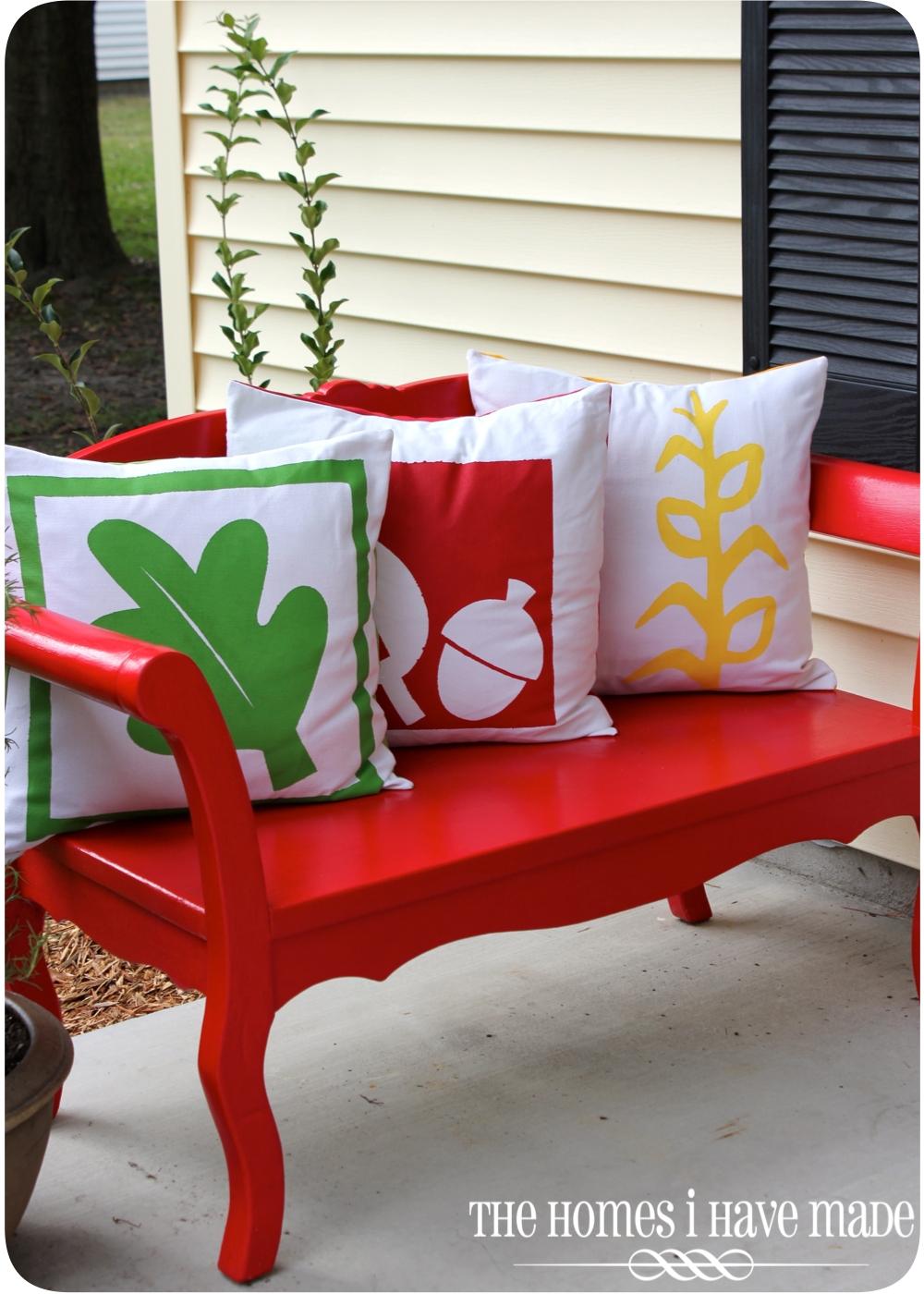 Fresh Fall Home Decorating Ideas Home Tour: Fresh Fall Decor {Outside Version}