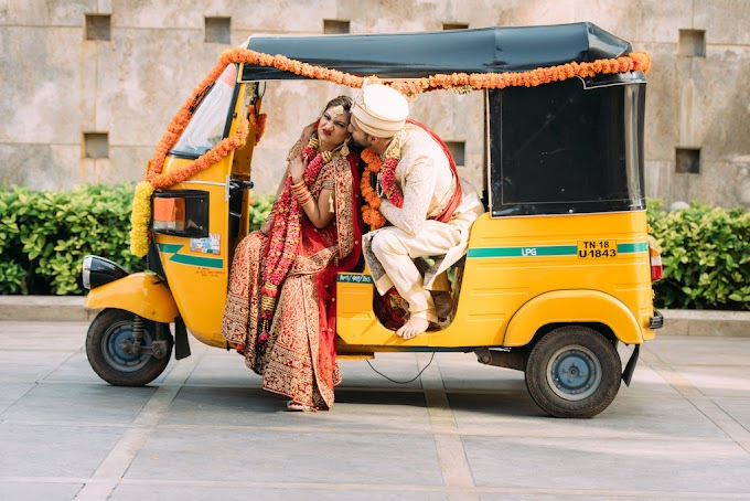 Marriage of Auto Rickshaw Man