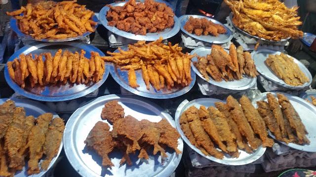 Fish stall Puri