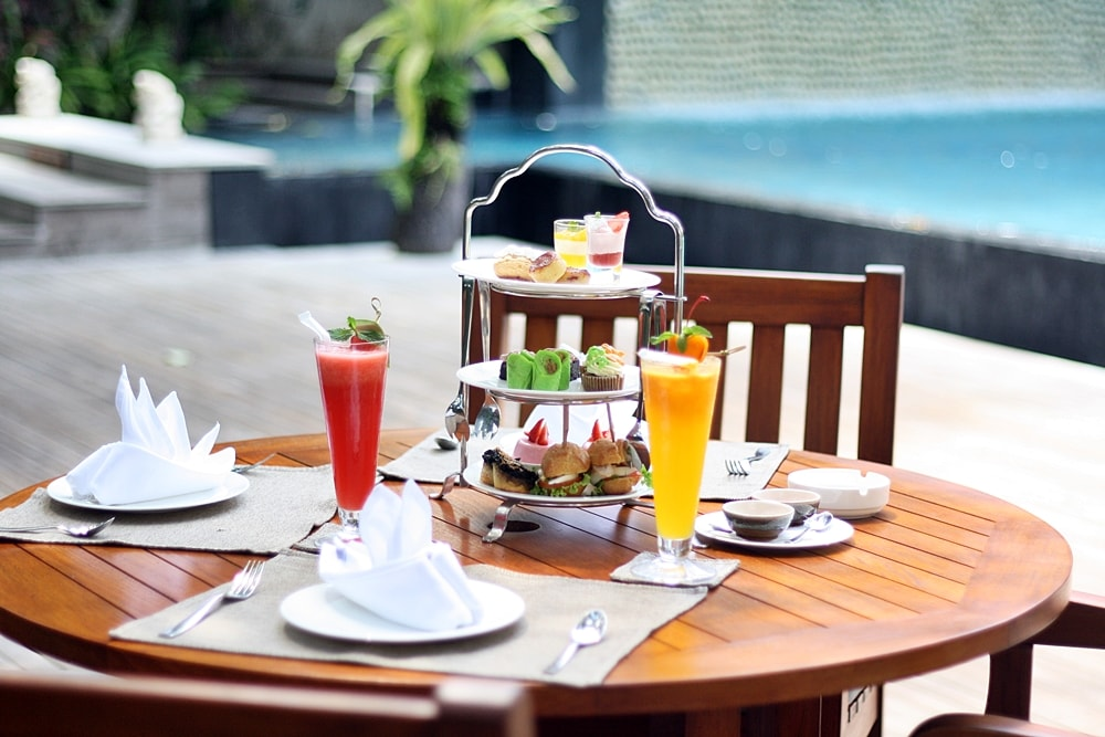 HIGH TEA AT AWARTA NUSA DUA BALI
