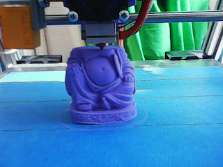 Buddha 3D Printing - Taken with VTech KidiZoom Action Cam