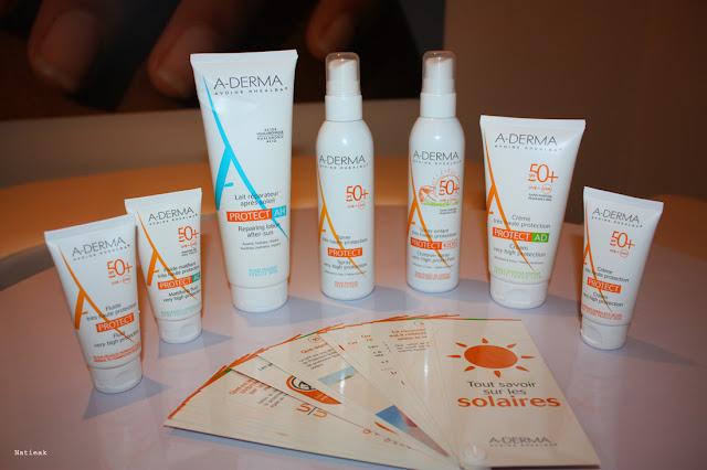produits solaires A-derma