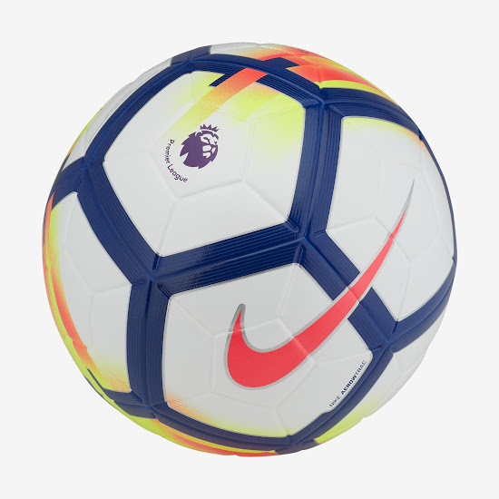 Nike Ordem V 2017-18 Premier League Ball Revealed