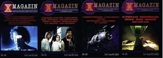 X-magazin sci-fi és ismeretterjesztő lap