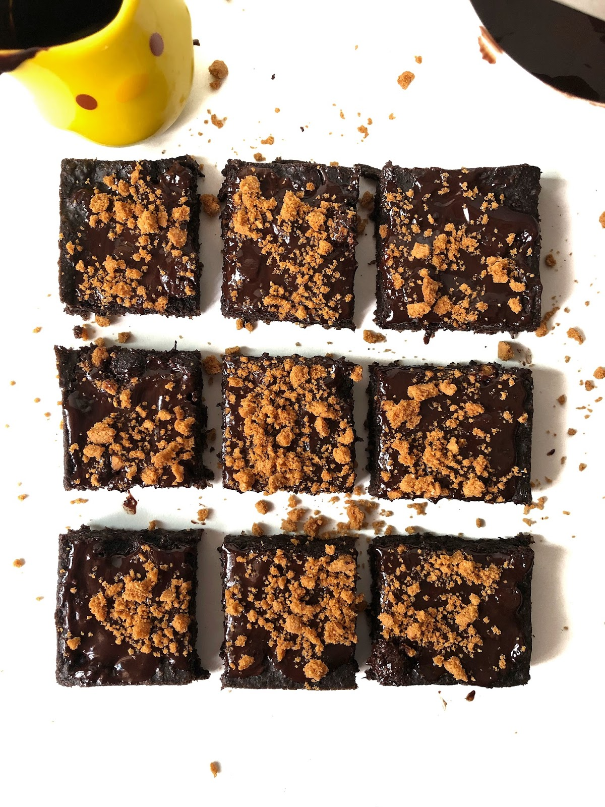 Easy Refined Sugar free brownies