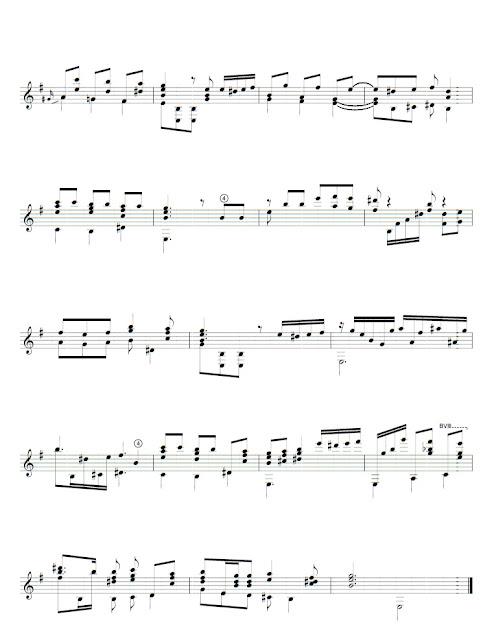 Aredes partitura
