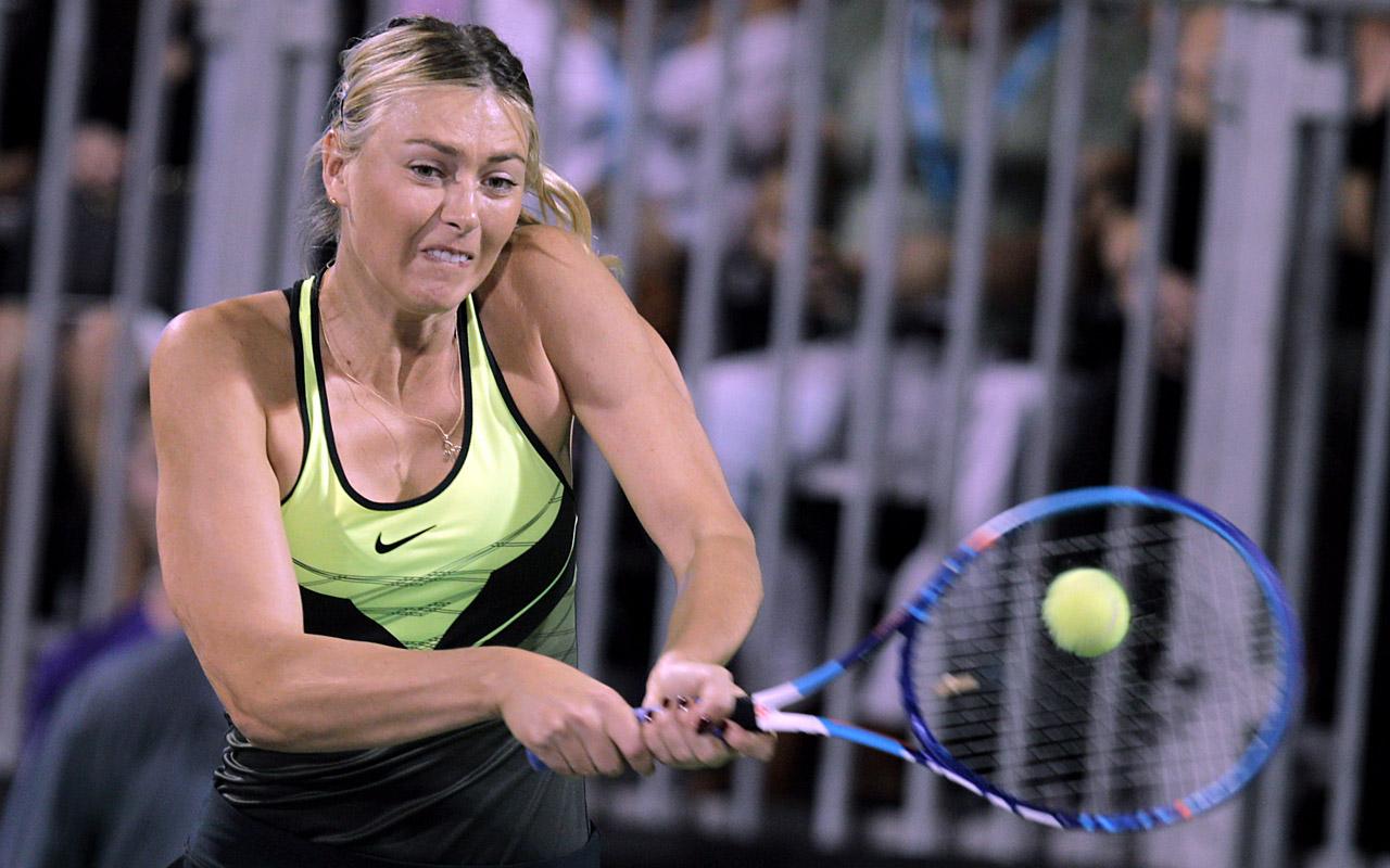 Maria Sharapova Returns To Tennis Ball Court After 15 Month Drug Ban