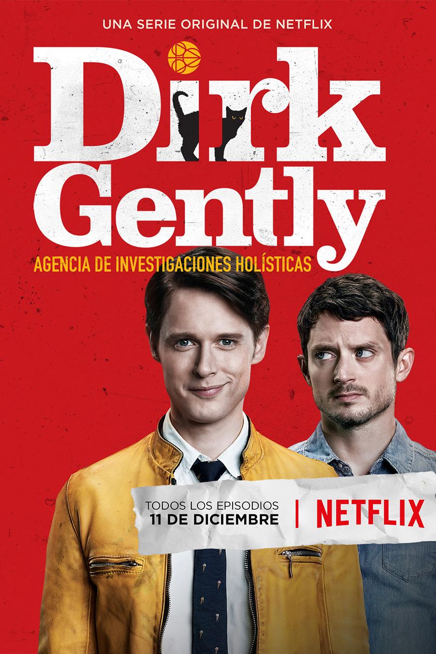 Fecha de estreno y póster de 'Dirk Gently Agencia de Investigaciones Holísticas'